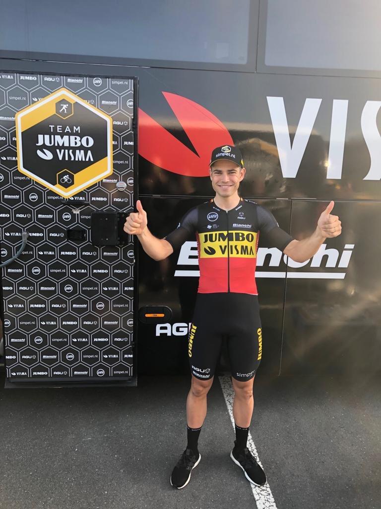 Wout Van Aert champion de Belgique CLM