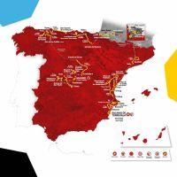 La carte de la Vuelta 2019