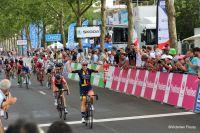 La victoire de Gladys Verhulst aux Championnats de France