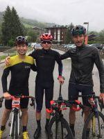 Les coureurs de la Time Megève Mont-Blanc ont eu chaud
