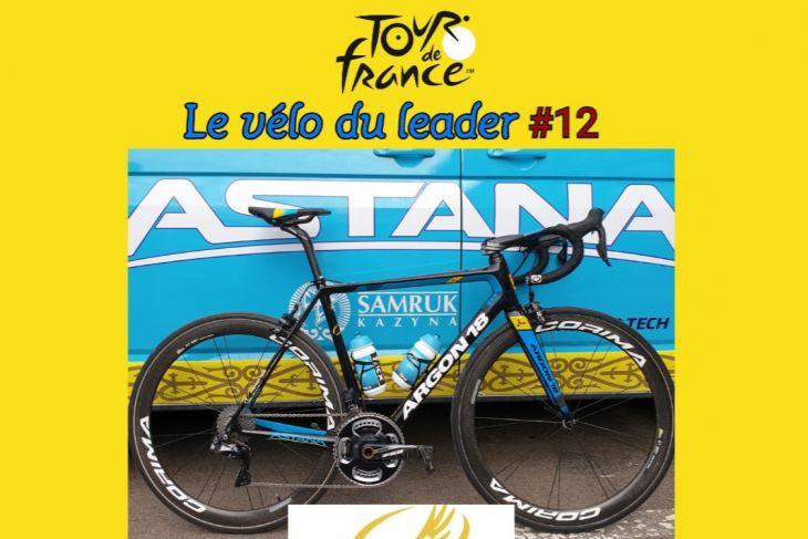 TDF2019 : Le vélo du leader #12