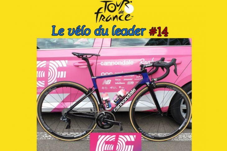 TDF2019 : Le vélo du leader #14