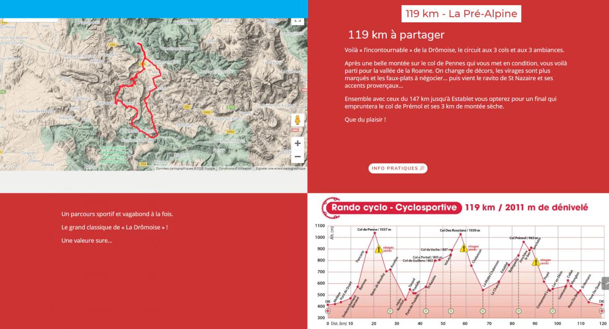 119 km - La Pré-Alpine