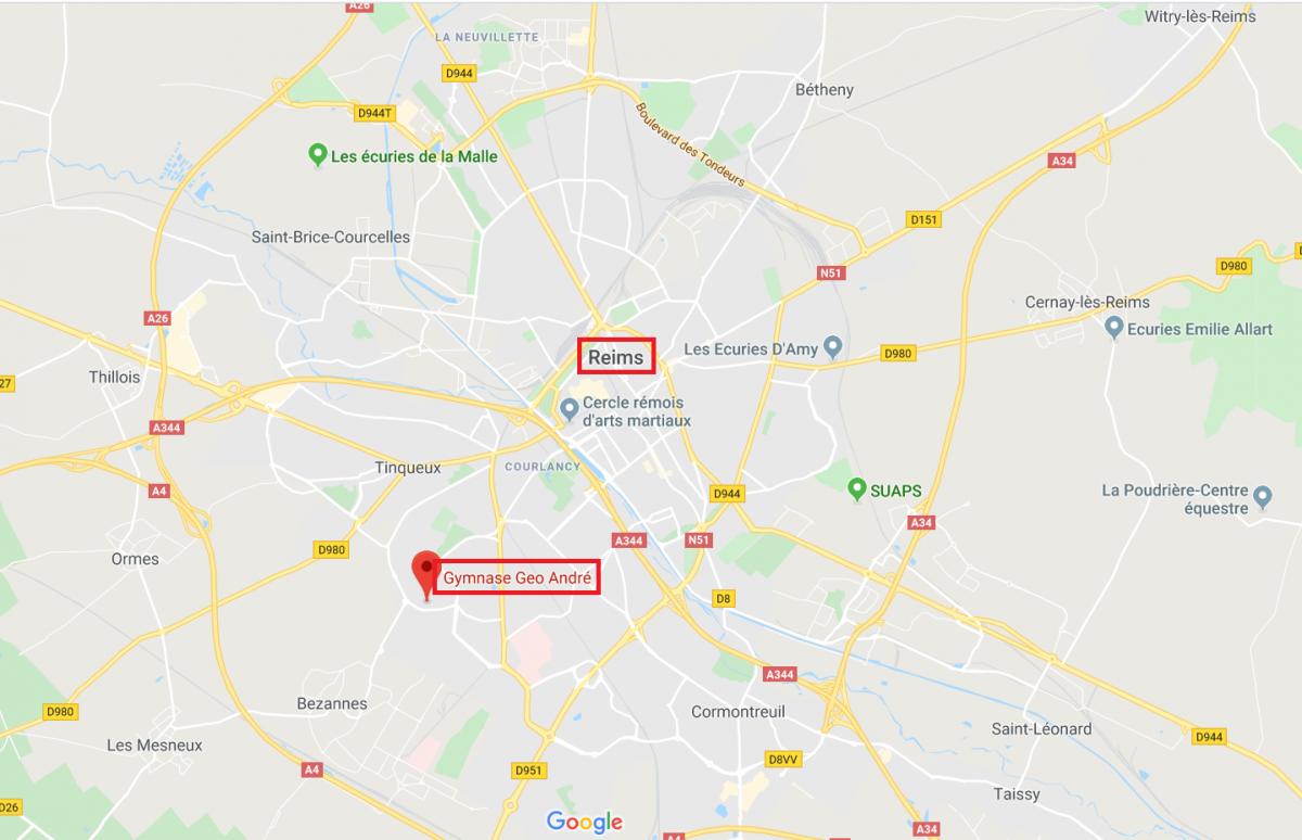 Accès_Le Brevet Cyclo de la Montagne de Reims