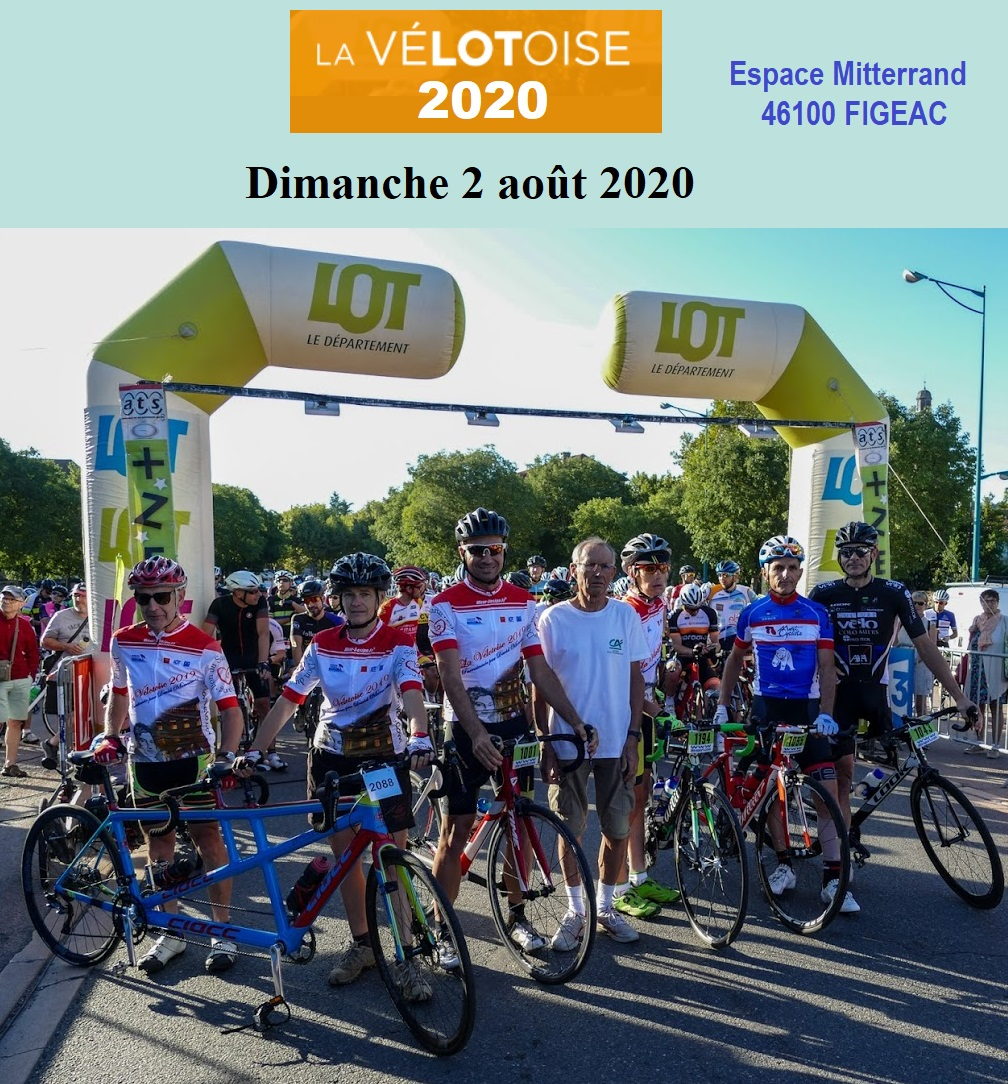 Affiche 2020_Départ Vélotoise 2019