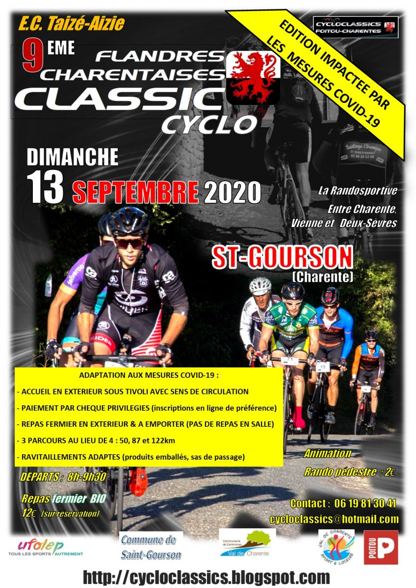 Affiche Flandres Charentaises Classic Cyclo