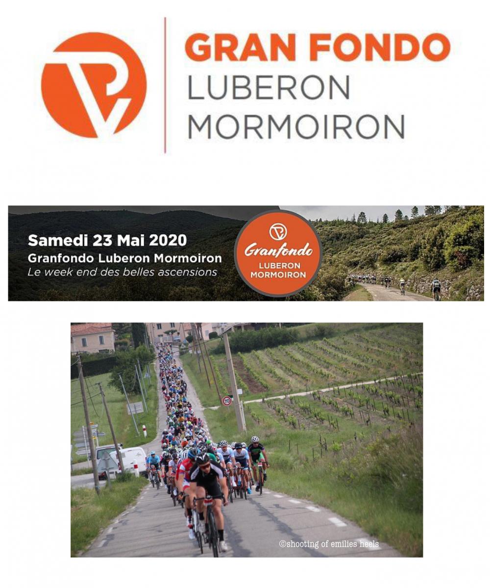 Affiche La Granfondo Luberon Mormoiron 2020