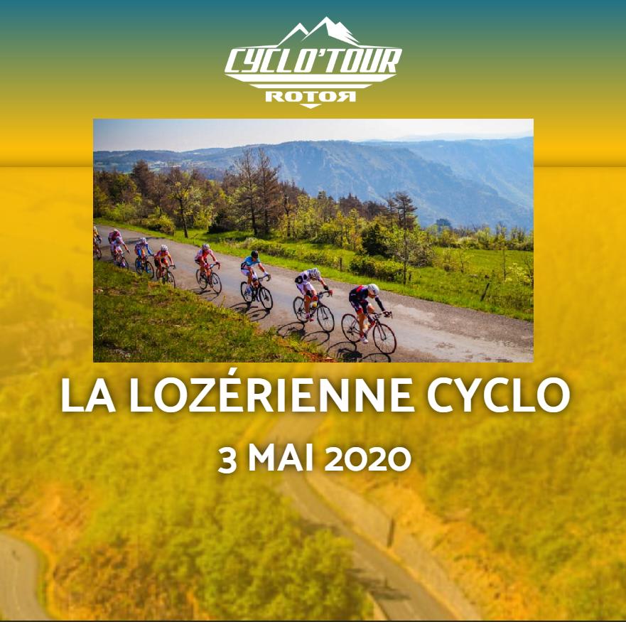 Affiche_La Lozérienne Cyclo 2020