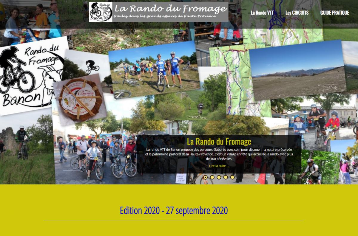 Affiche La rando du fromage 2020