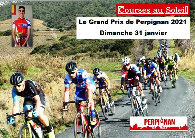 Affiche modifiee du GP Perpignan 2021