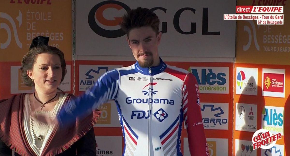 Alexys Brunel vainqueur de la première étape