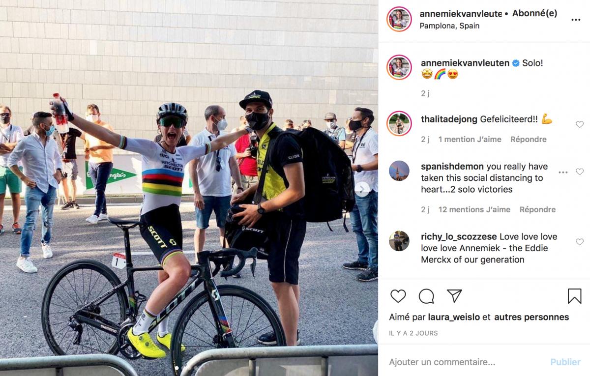 Annemiek Van Vleuten vainqueure à trois reprises en Espagne