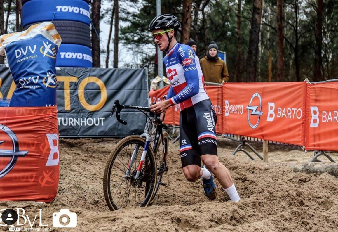 Antoine Benoist en cyclo-cross