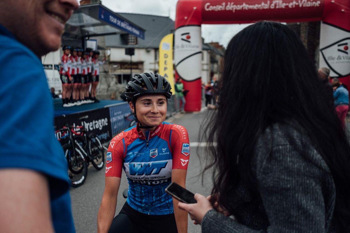 Au départ du Tour de Bretagne