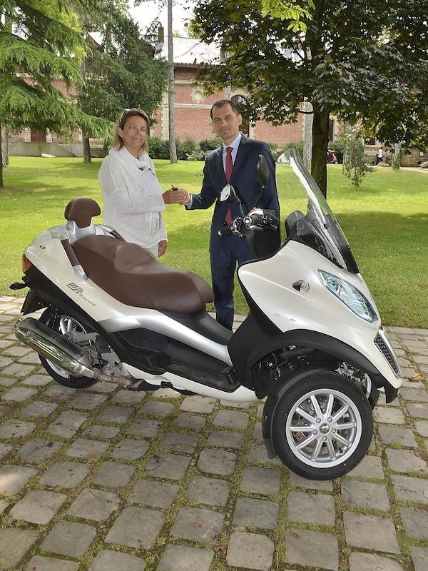 Avant d'être PDG de Look, Federico Musi a longtemps évolué au sein du groupe Piaggio, géant du domaine des scooters