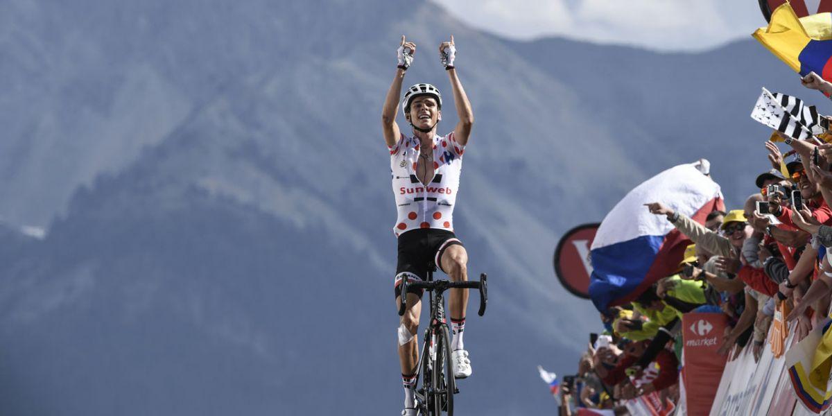 Barguil, nouvel ange de la montagne lors du Tour de France 2017