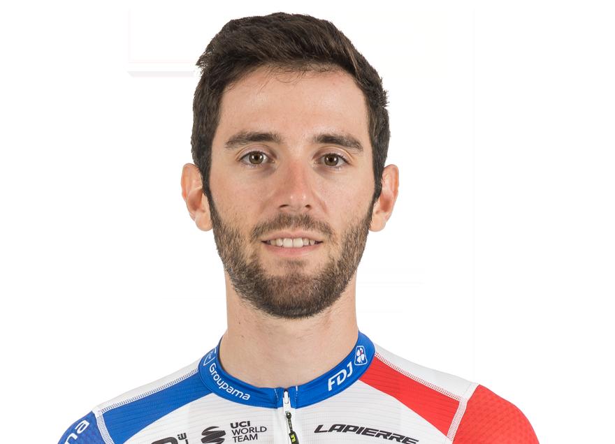 Benjamin Thomas sous le maillot de la Groupama-FDJ