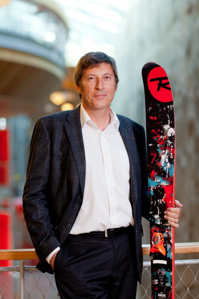Bruno Cercley, PDG de Rossignol