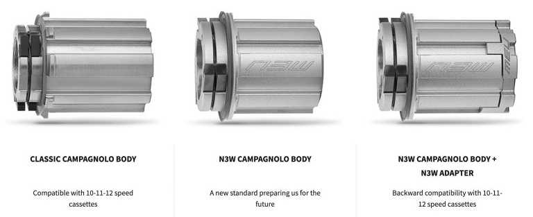 Campagnolo N3W_3 versions