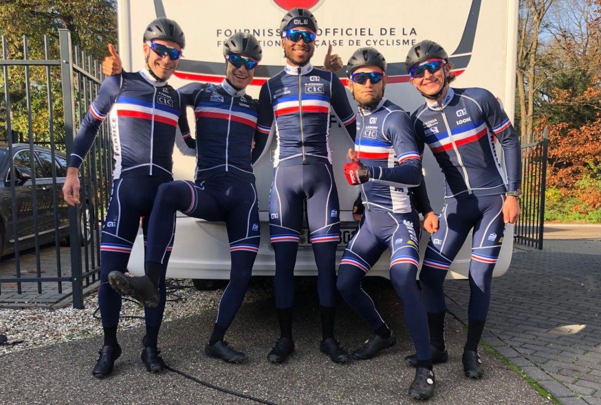 Les coureurs du team sélectionnés au Championnat d'Europe