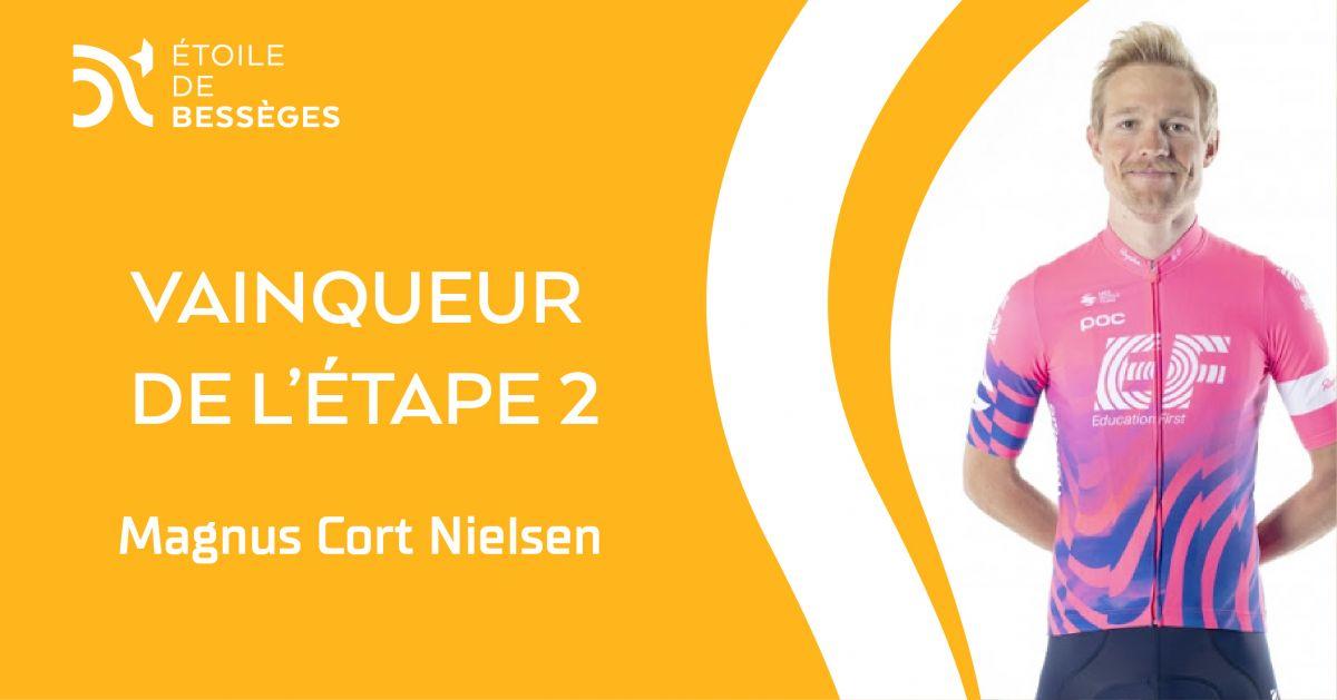 Cort Nielsen vainqueur de l'étape 2