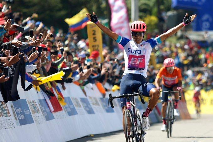 Daniel Martinez s'offre la dernière étape