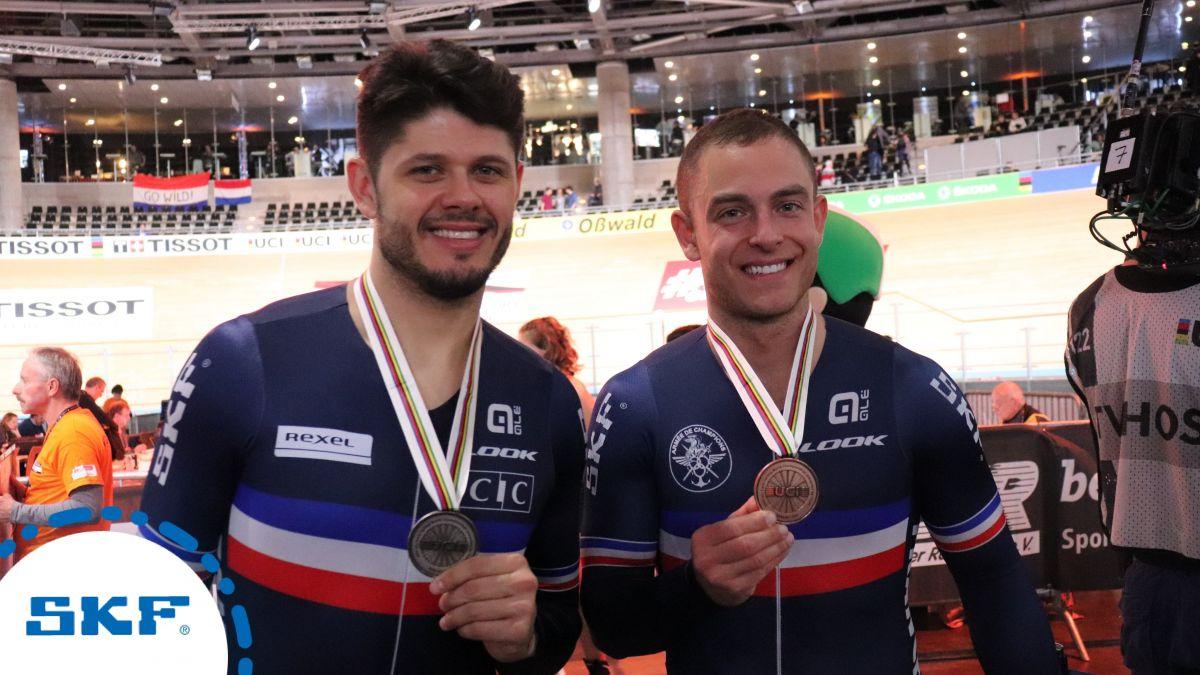 Deux Français sur le podium du kilomètre
