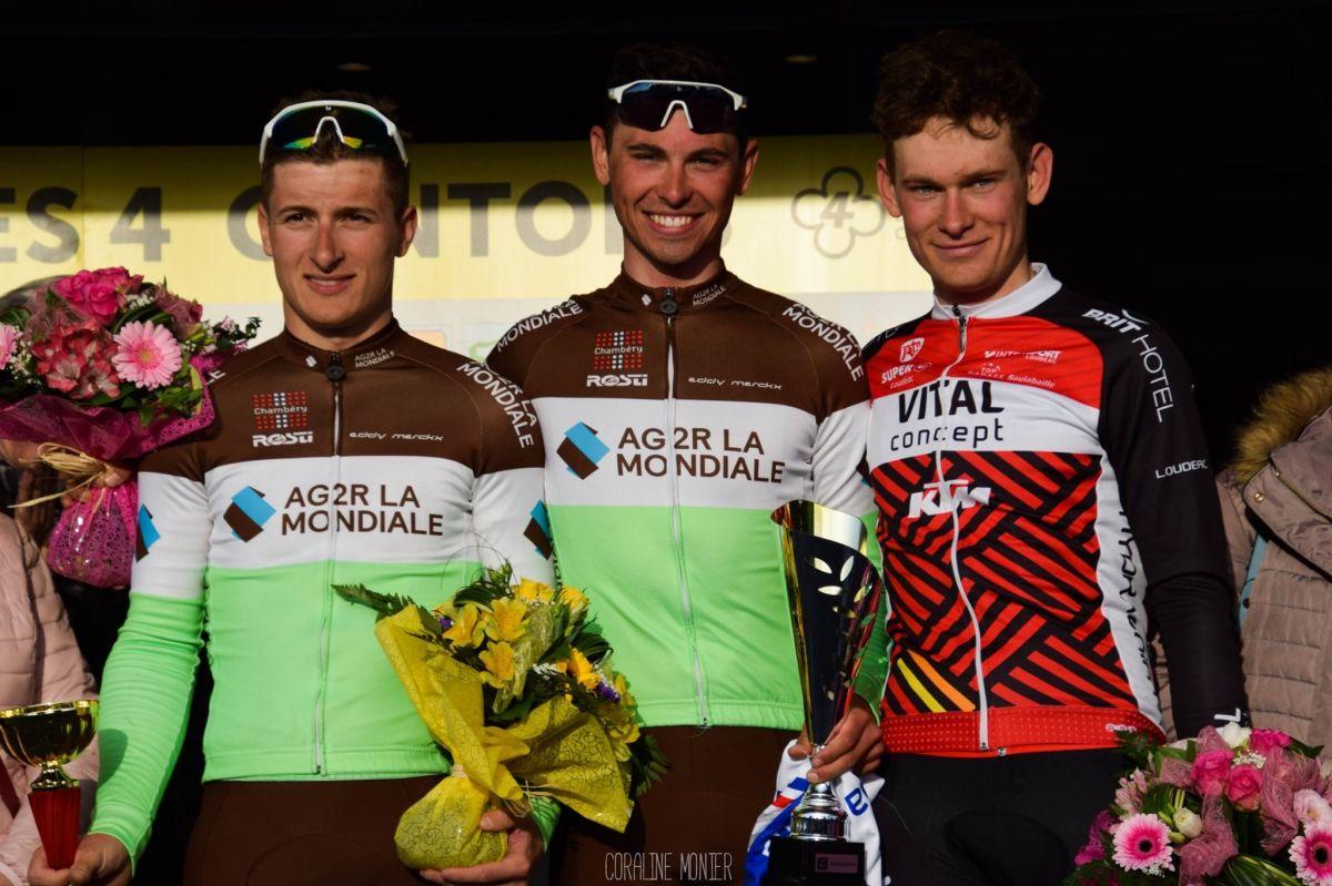 Doublé pour le Chambéry Cyclisme Formation avec la victoire d'Antoine Raugel