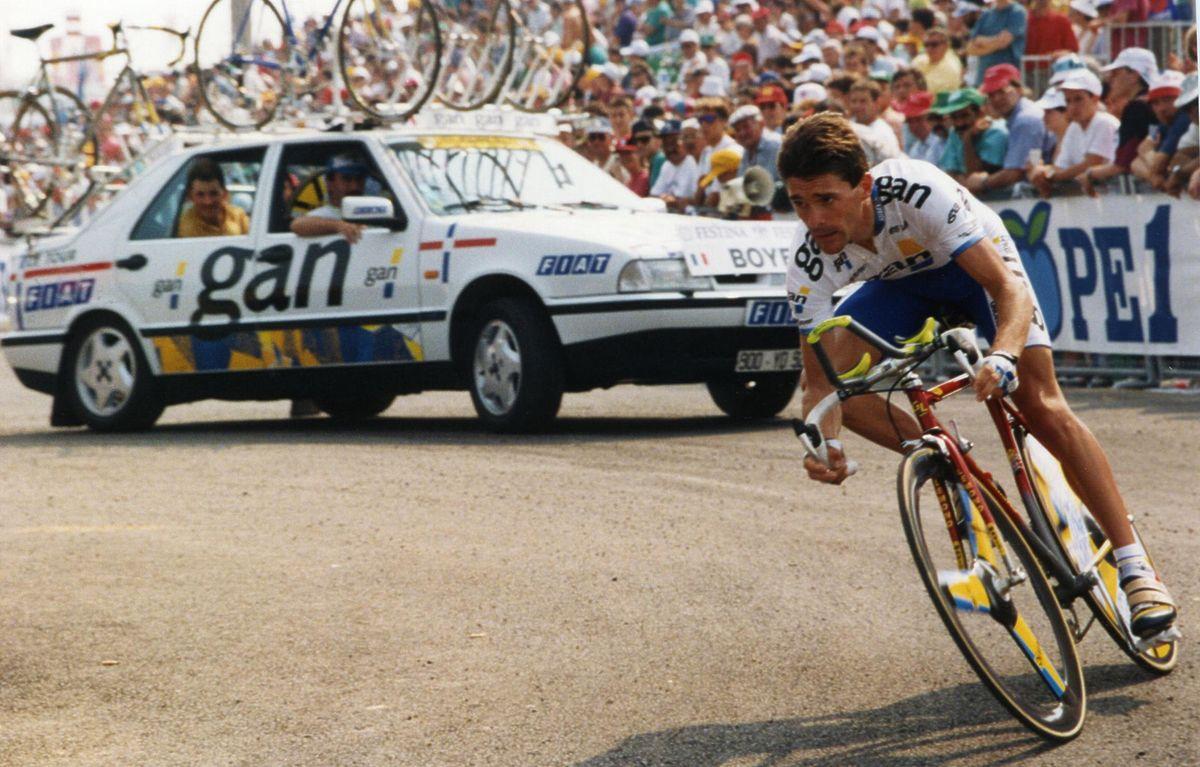 Eric Boyer, ici sous le maillot Gan, a lourdement attaqué Roger Legeay après sa carrière