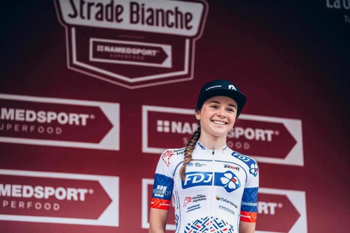 Evita meilleure jeune des Strade Bianche 2019
