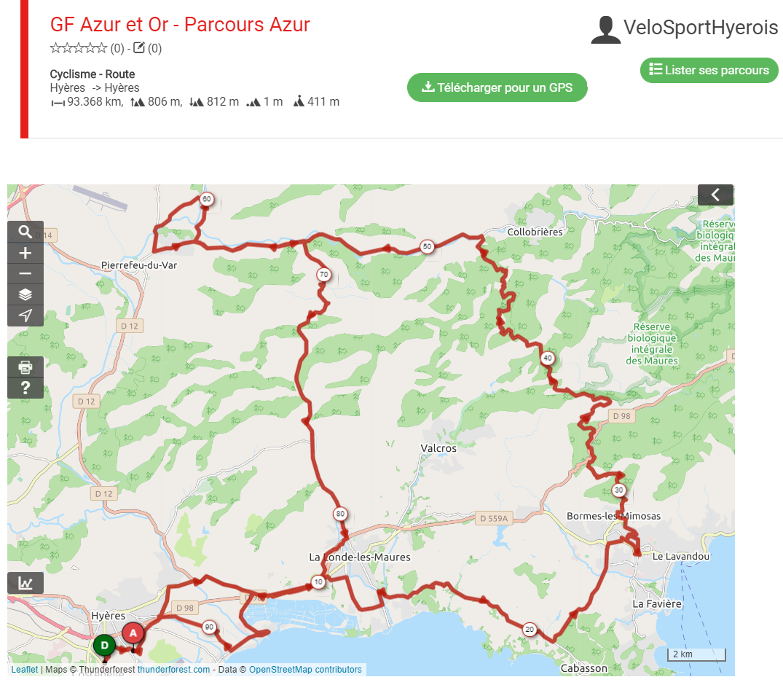 GF Azur et Or_Parcours Azur 2020