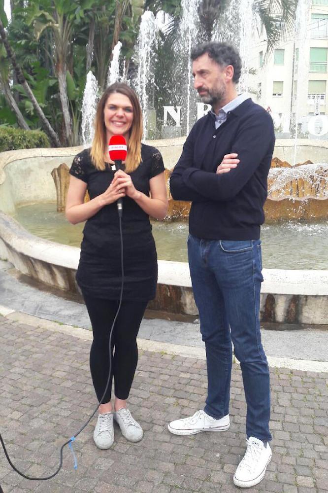 Gilles Simon aux côtés de Claire Bircogne
