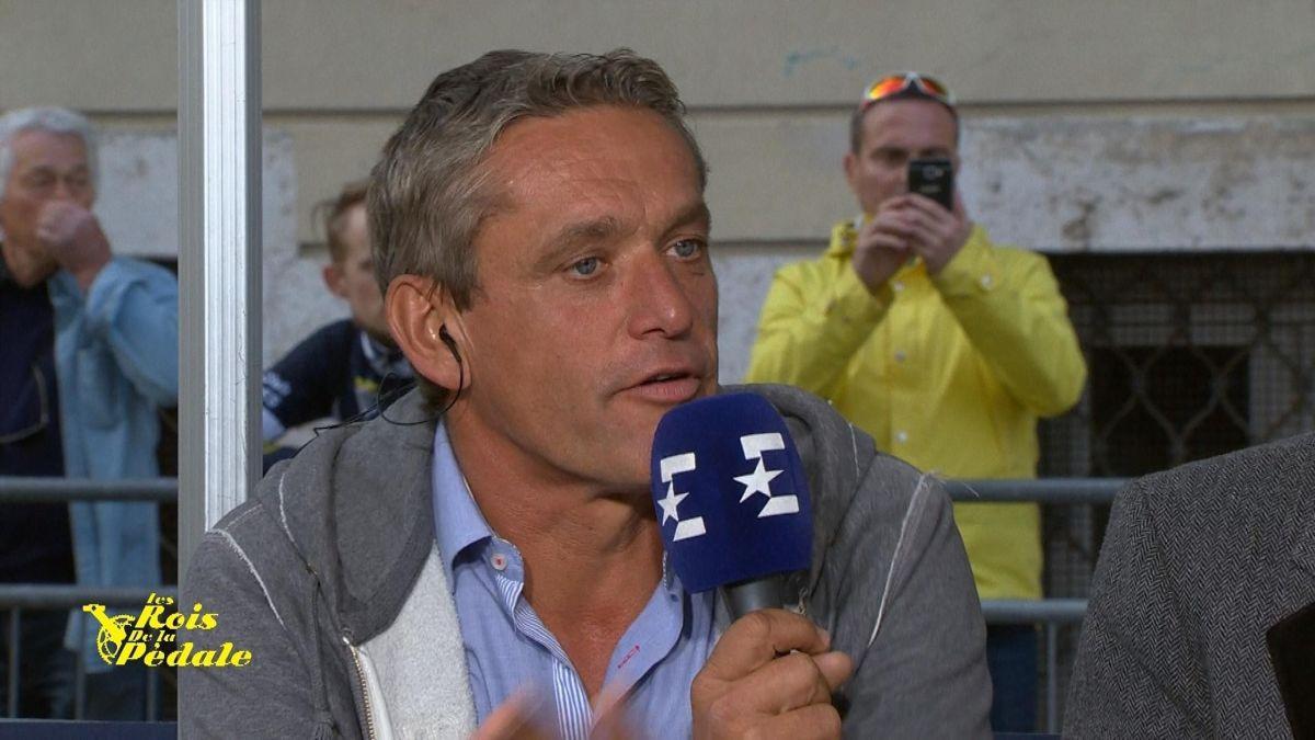 Jacky Durand au micro d'Eurosport