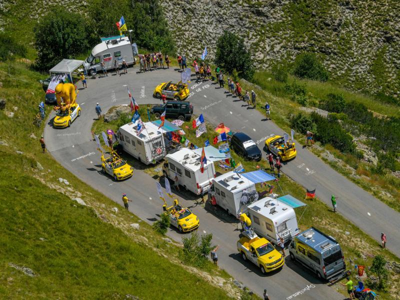 La Caravane LCL sur le Tour de France