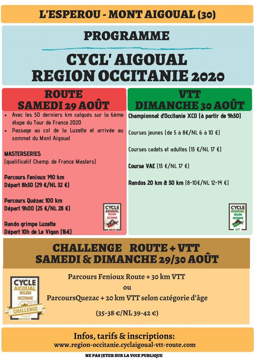 La cyclaigoual Aout 2020-2
