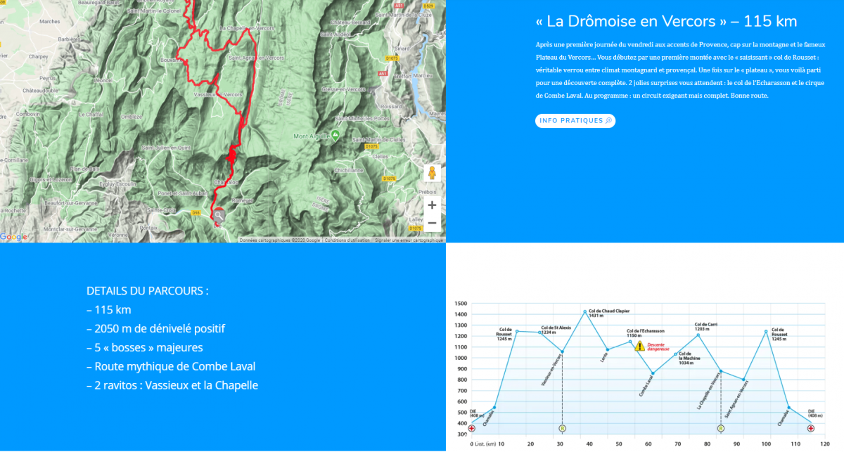 La Drômoise en Vercors » – 115 km