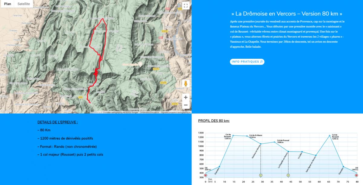 La Drômoise en Vercors – Version 80 km