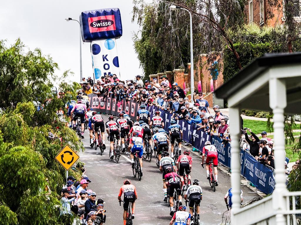 La montée Challambra de la Cadel Evans