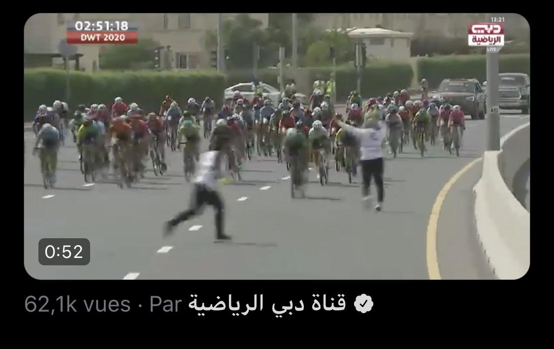 La sécurité sur le Tour de Dubaï femmes