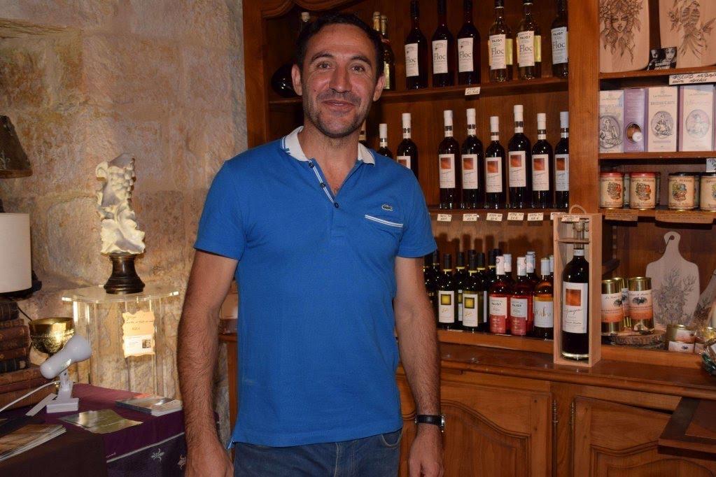 Laurent et sa passion du vin