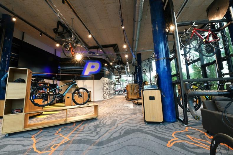 Le concept store de ProBikeShop à Lyon