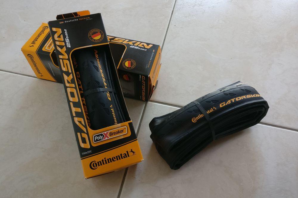 Les pneus Continental GatorSkin