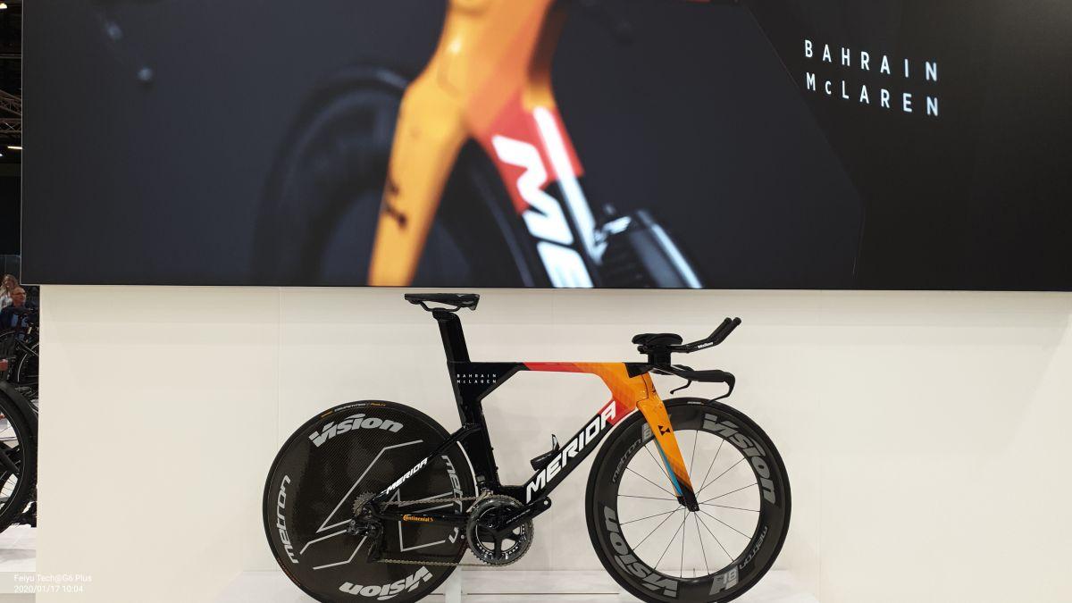 Vélofollies 2020 : Merida Warp TT Team Bahrain McLaren