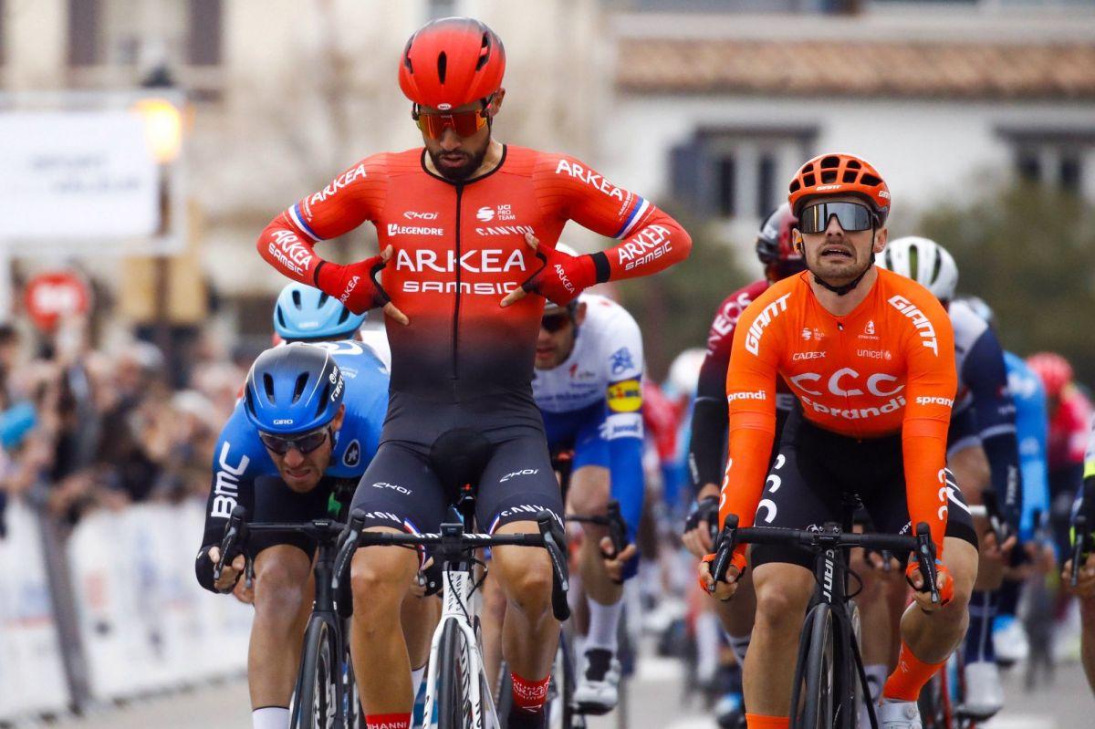 Nairo Quintana s'impose au sprint sur la première étape