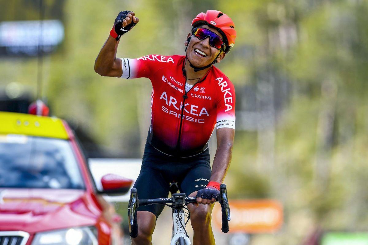 Nairo Quintana s'impose sur la dernière étape de Paris-Nice