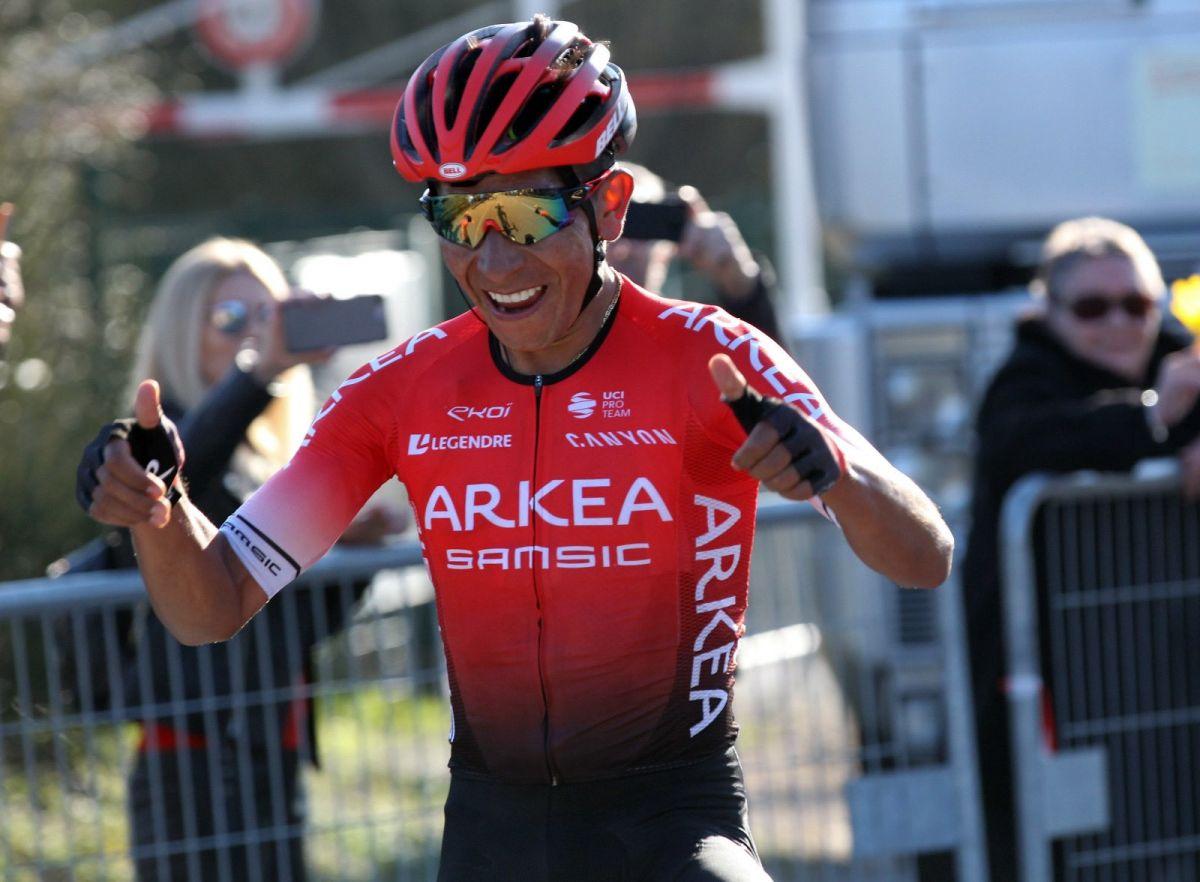Nairo Quintana vainqueur au col d'Eze
