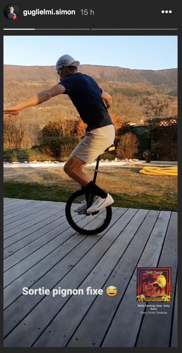 Petite séance de monocycle