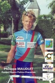Philippe Mauduit sous le maillot de la sélection du Poitou-Charentes
