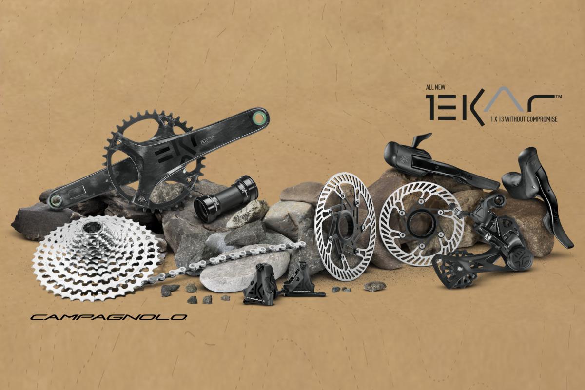 Campagnolo lance son premier groupe gravel Ekar 1x13