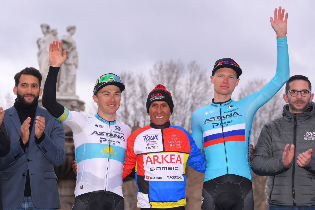 Podium final de la 5ème édition du Tour de la Provence